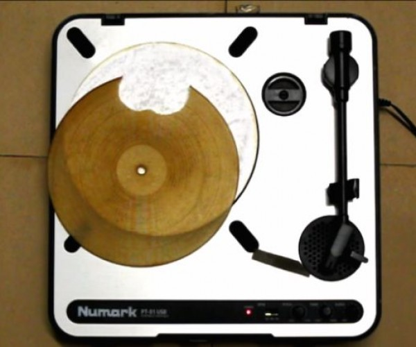 This Record Is Made out of an Uncooked Flour Tortilla, Really Plays