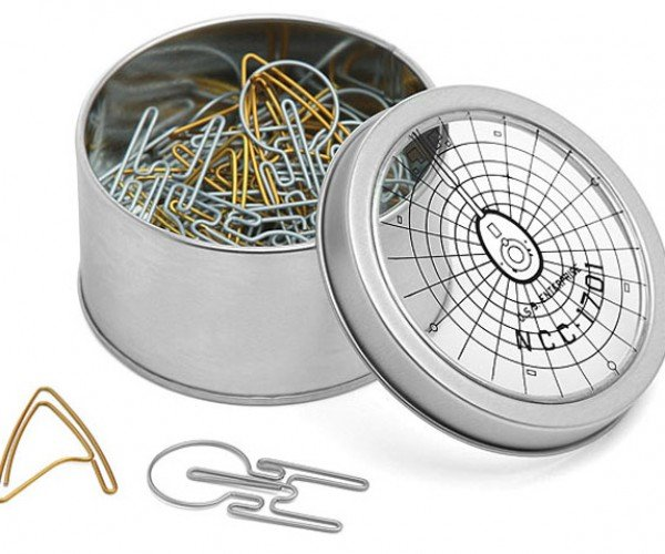 Star Trek Paper Clips Boldly Turn in Paperwork