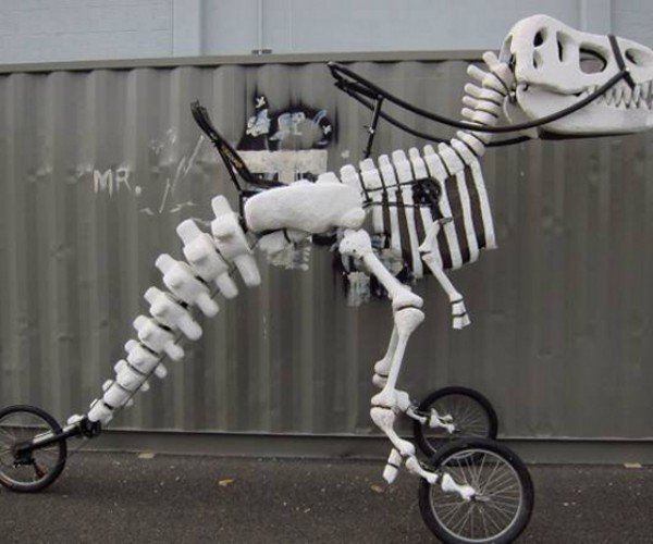 Jurassic Wheels: T.Rex Tricycle