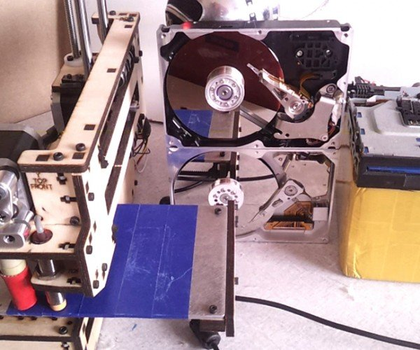 Using Disk Drives and 3D Printers as MIDI Musical Instruments
