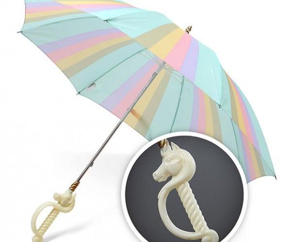 Magical Unicorn Umbrella Keeps Trolls (and Humans) Dry
