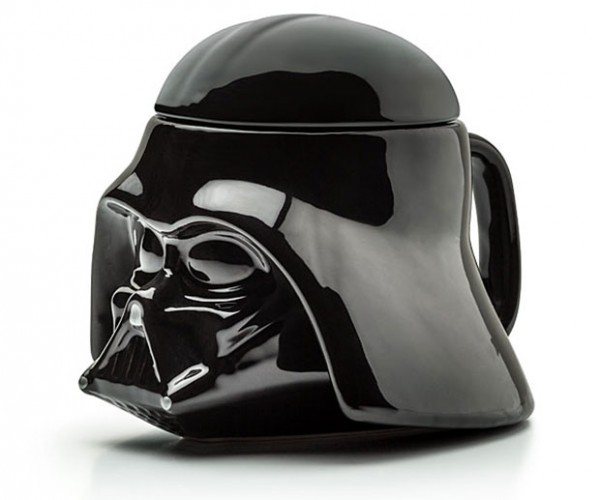 Darth Vader Helmet Mug for Darth Roast Coffee