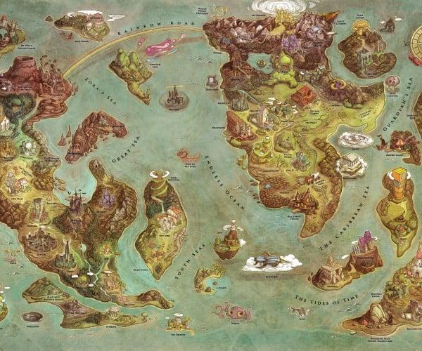 Videogames World Map: Smash Kingdom Project X Taisen of the Storm vs. Capcom