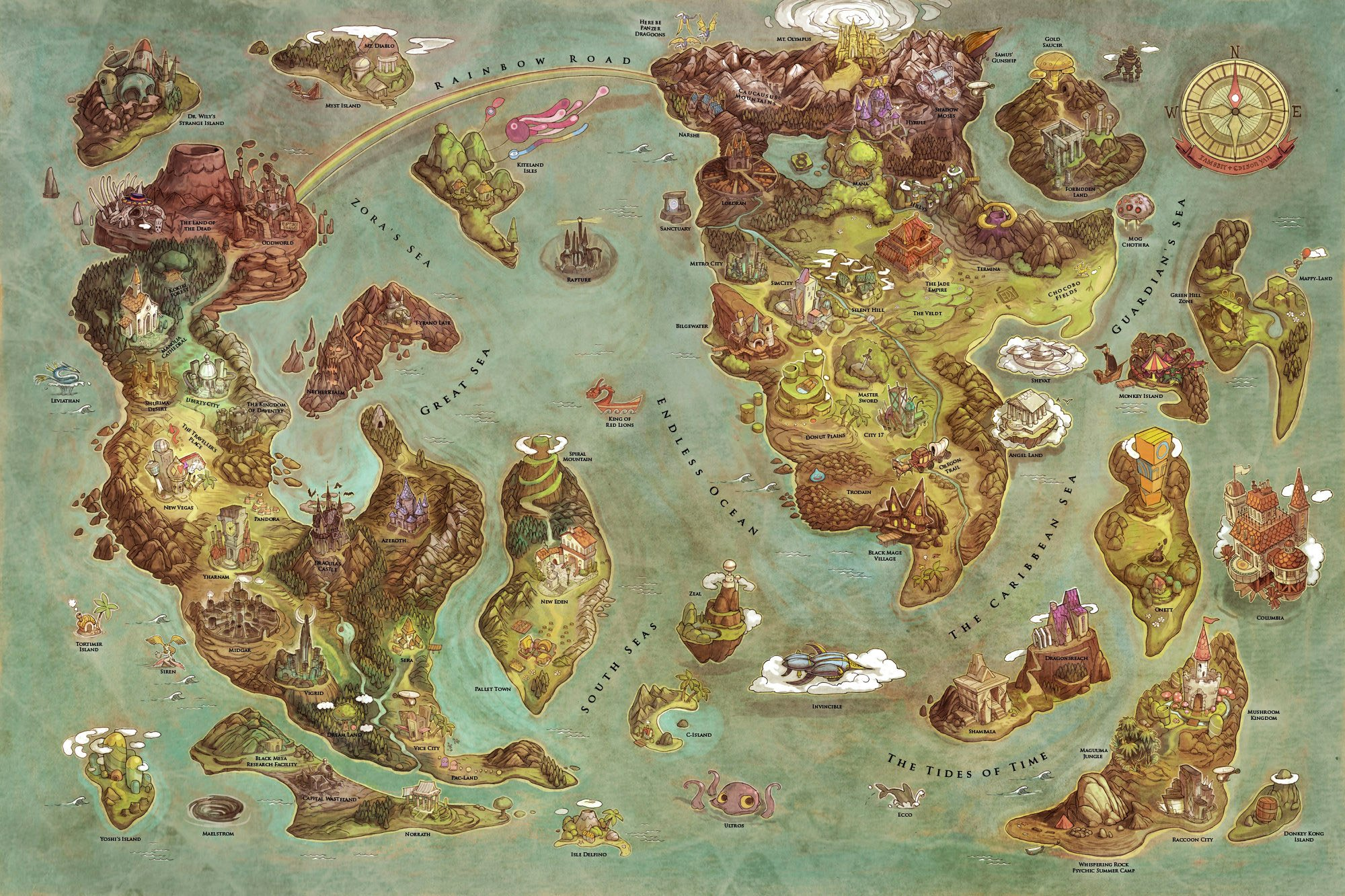 Tag map videogames world map smash kingdom project x taisen of the storm vs capcom gumiabroncs Gallery
