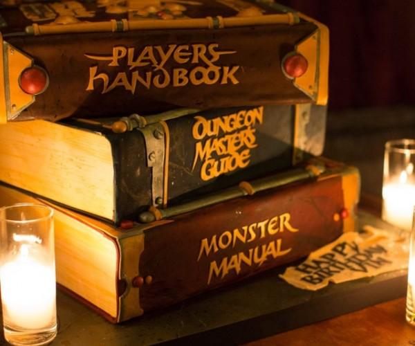 Vin Diesel's Dungeons & Dragons Cake