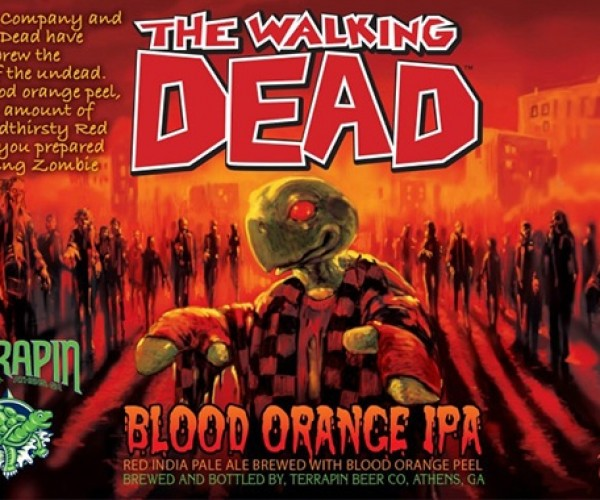 The Walking Dead Official Beer: Zombeer
