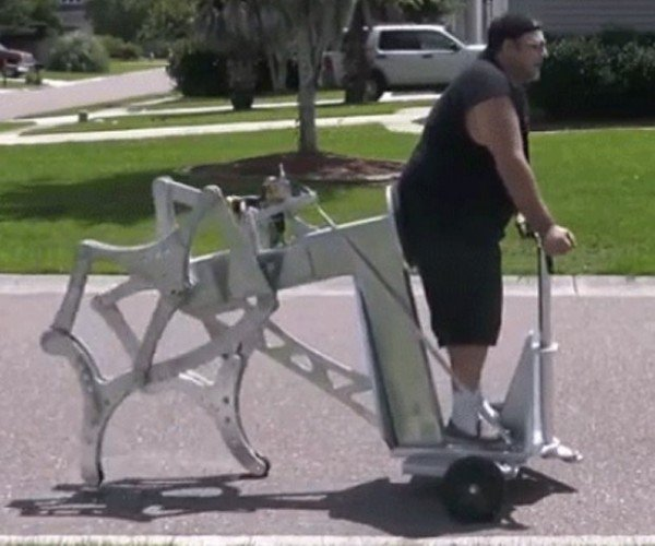 This Walking Machine is Powered by a Hand Drill