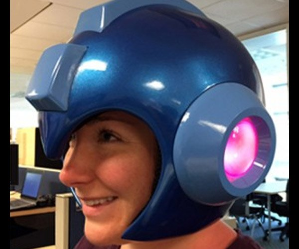 Wearable Mega Man Helmet: Armor Upgrade