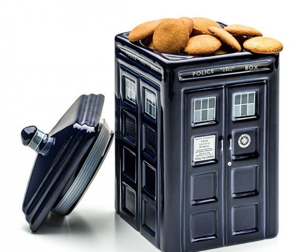 Doctor Who TARDIS Cookie Jar is Sweeter on the Inside