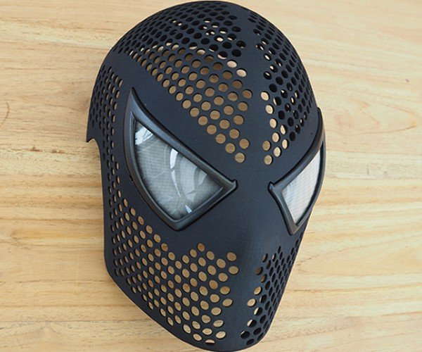 3D Printed Spider-Man Mask Shell: Ultimate Cosplay-Man