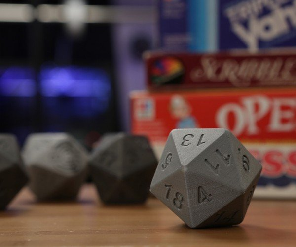 DIY 3D Printed Talking D20 Will Tell You the Odds