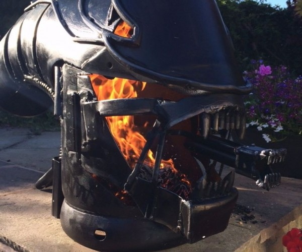 Xenomorph Wood Stove: On Fire, Everyone Can Hear You Scream