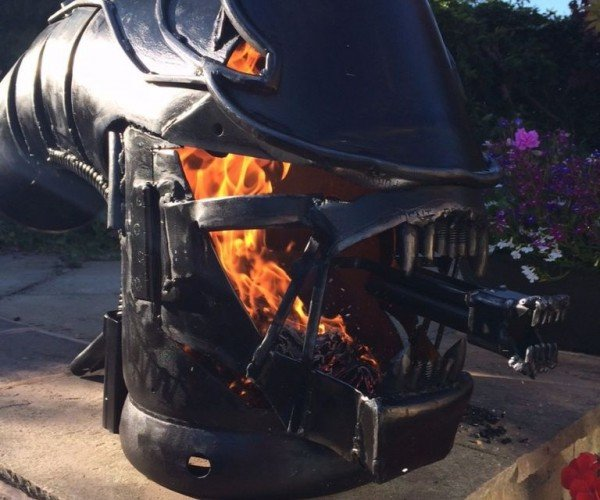 Xenomorph Wood Stove: On Fire, Everyone Can Hear You Scream