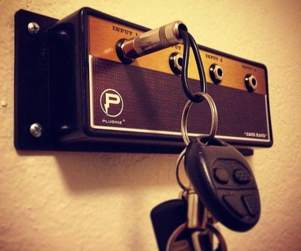 Jack Rack Amp Key Hanger: Rock out with Your Keys Out