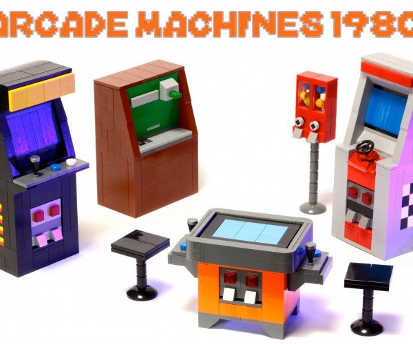 Tiny LEGO Arcade Cabinets Hit LEGO Ideas