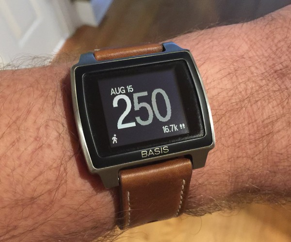Review: Basis Peak Titanium Edition Fitness Tracker