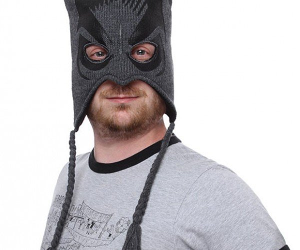 Batman Beanie Keeps Crime Fighters Warm and Protects Secret Identities
