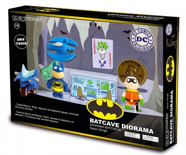 Super Dough Batman Modeling Kits: The Dough Knight