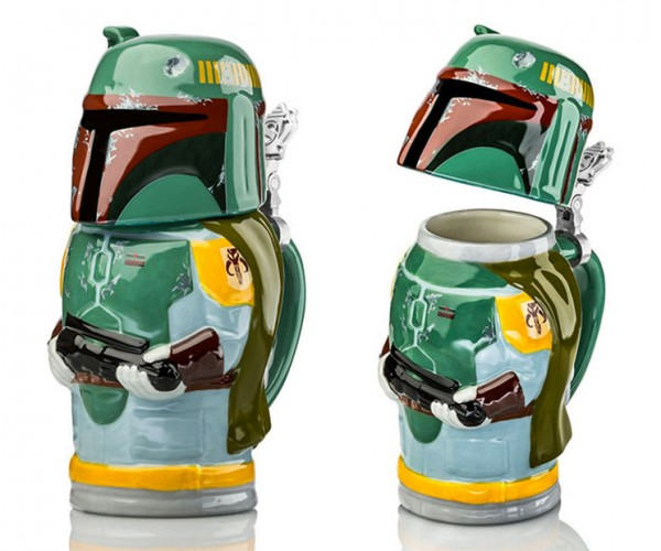 Star Wars Steins Hold Beer and Awesome