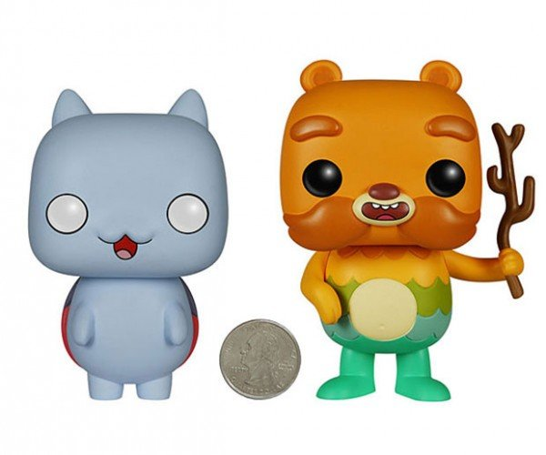 Catbug and Impossibear Get the Funko Pop Treatment