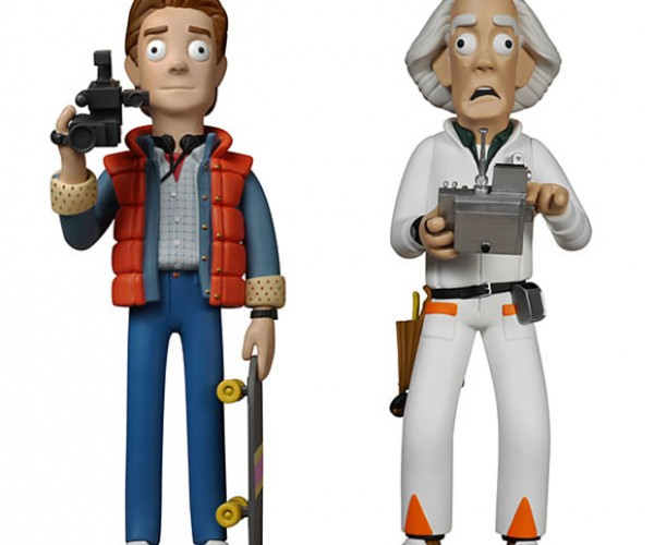 Back to the Future Vinyl Idols: Great Scott, My Eyeballs!