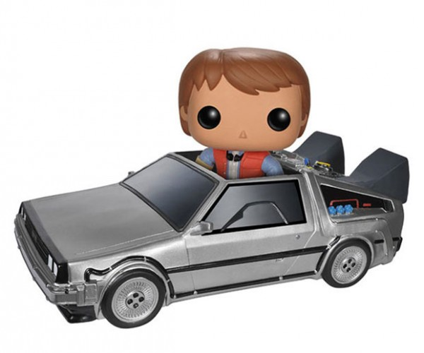 Back to the Future Funko POP! Delorean Won't Hit 88 MPH