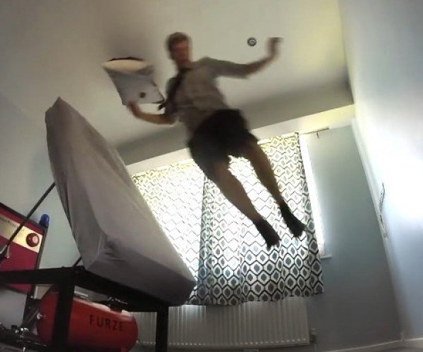 The Ejector Bed Is Guaranteed to Wake You up