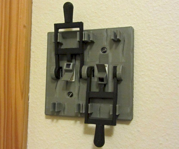 Frankenstein Light Switch Plate: It\