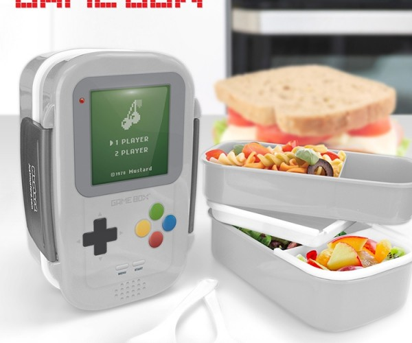 Game Box Bento Box: Press Start to Lunch