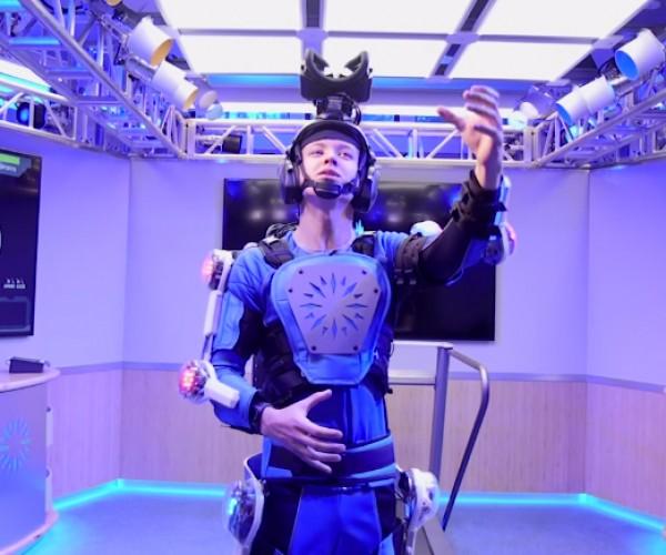 Exoskeleton Simulates Aging: Inevitable Reality