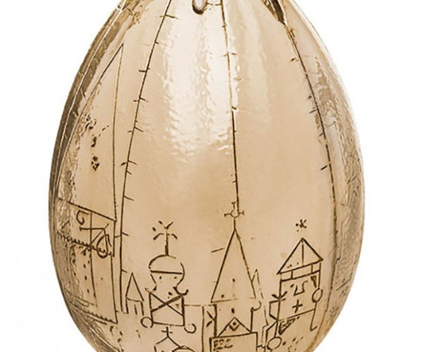 Harry Potter Golden Egg Replica Looks like an Eggplant