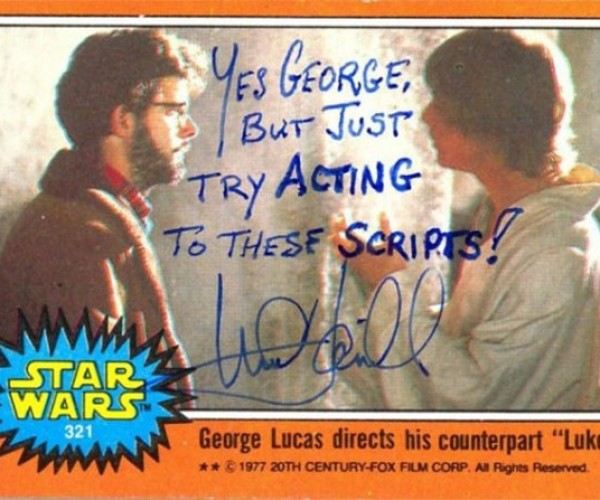 Mark Hamill Gives Awesome Autographs