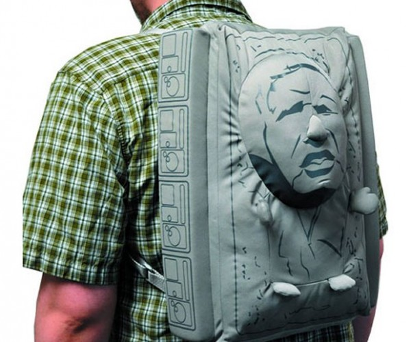 Han Solo in Carbonite Backpack: Leave It Frozen