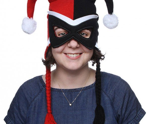 Harley Quinn Mask Hat Is Jester Chic