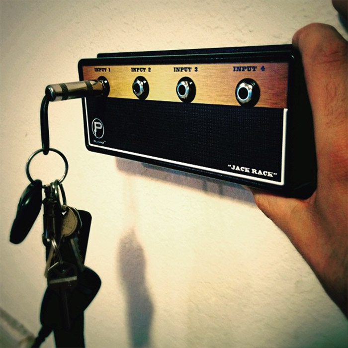 Jack Rack Amp Key Hanger Rock Out With Your Keys Out