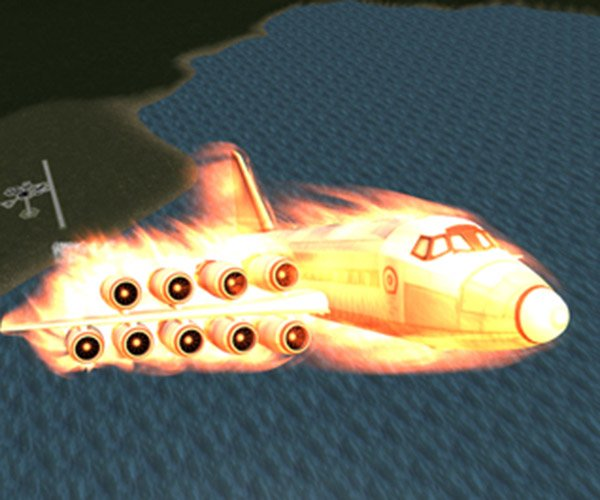Photoshopped Planes Turned into Kerbal Space Program Ships: Hyperbolic Eccentricity