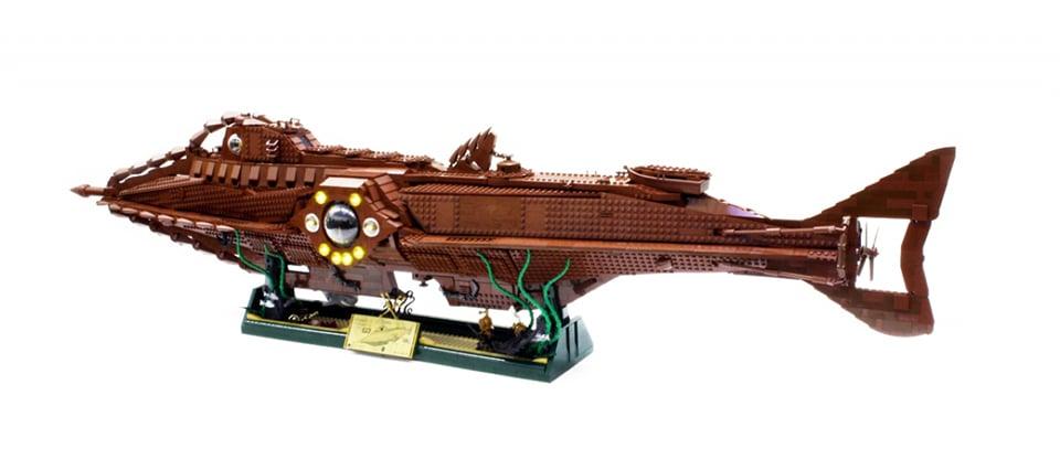Lego Nautilus Concept Is Just 4000 Votes Under The Target