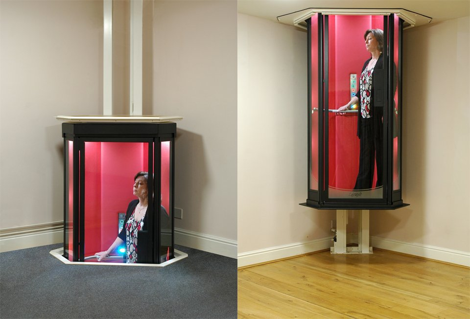 Lifestyle Home Elevator Will Beam You Up Eventually