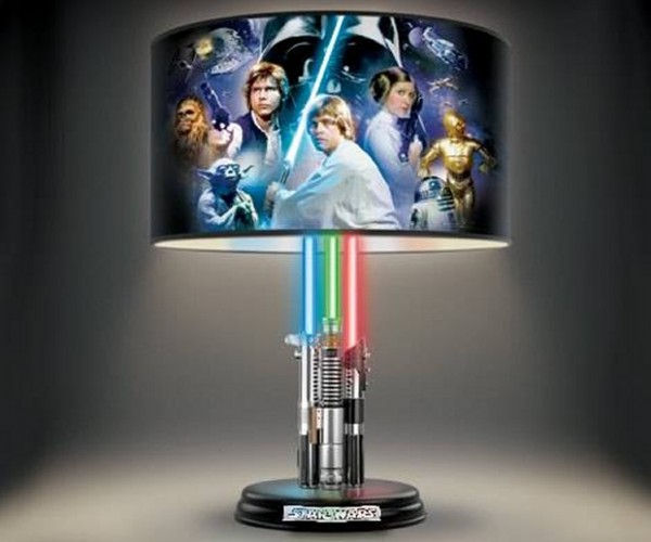 Star Wars Lightsabers Lamp: The Light-up Side of the Force