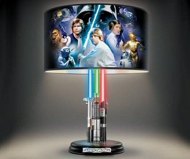 Star Wars Lightsabers Lamp The Light Up Side Of The Force