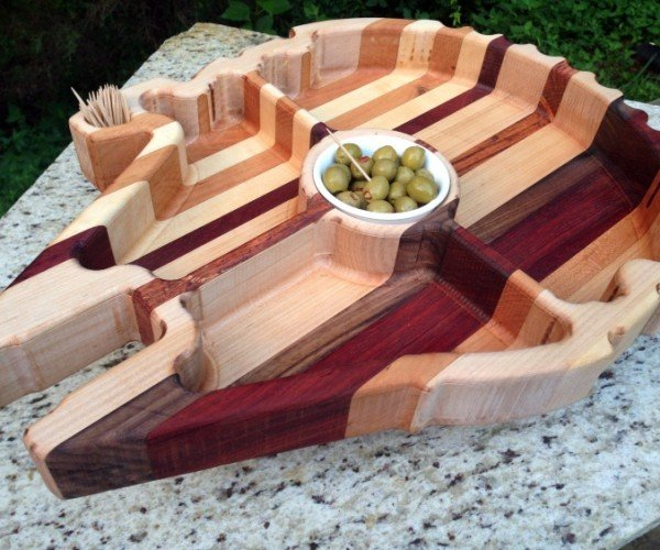 Millennium Falcon Snack Tray Has Got Chips and Dip Where It Counts