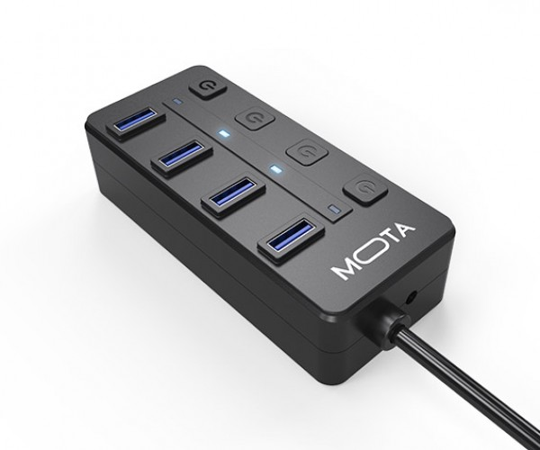 Deal: Save 35% on the MOTA 4-Port USB 3.0 Hub