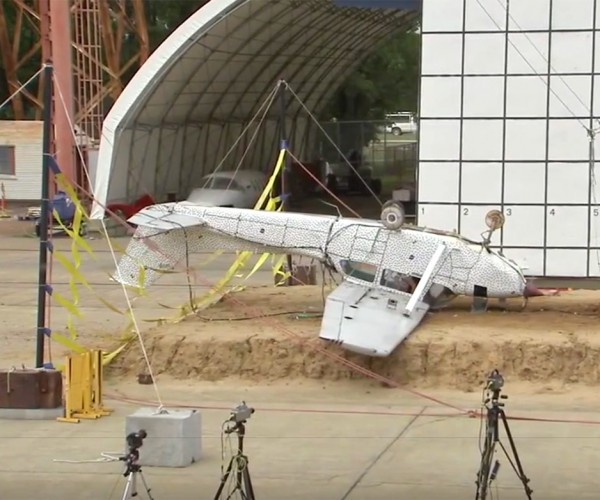 NASA Just Crashed a Plane on Purpose