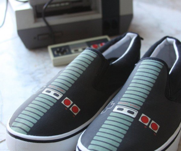 NES Controller Shoes: Footendo Entertainment System