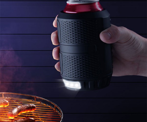 Nite Ops Can Cooler Protects Your Beer and Lights Your Way