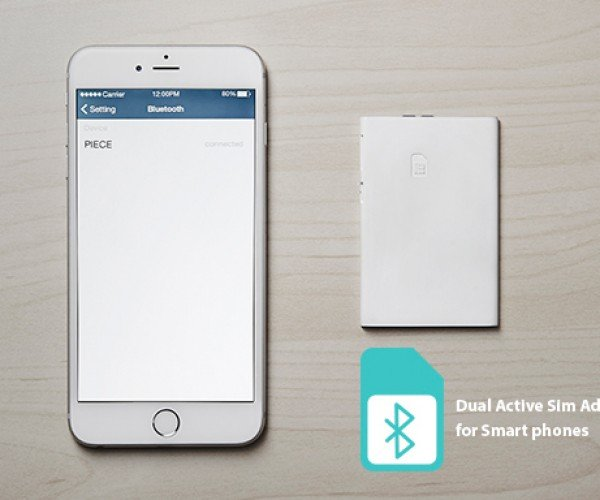 Piece Lets Your Phone Dual-Wield SIM Cards