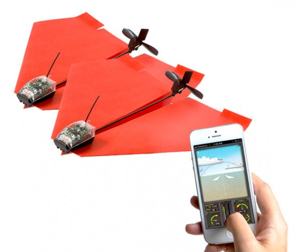 Deal: PowerUp 3.0 Smartphone-Controlled Paper Airplane 2-Pack