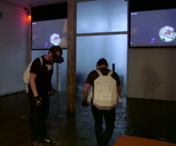 Multi-user Wireless Virtual Reality System: Real Virtuality