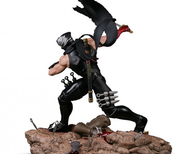Ninja Gaiden 3 Ryu Hayabusa Statue Includes Severed Limbs