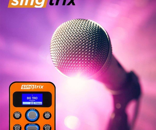 Singtrix Gives Everyone a Singing Voice